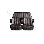 Sitzbezüge komplett  Targa-Imitat schwarz