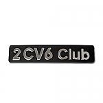 Emblem 2CV6 Club