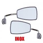 Spiegelset 2CV links/ rechts INOX