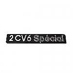 Emblem 2CV6 Spécial