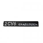 Emblem 2CV6 Charleston Chrom
