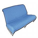 Sitzbankbezug vorne, blau AMI 6