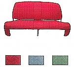 Sitzbezug Bank hinten rot, AMI