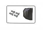 Schraubensatz Befestigung Türscharnier-Abdeckung neues Modell Mehari