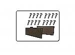 Schraubensatz Befestigung Kofferdeckel Mehari
