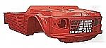 Karosserie rot altes Modell Mehari