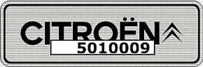 Citroën Aufkleber